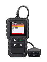 Недорогие -Запуск x431 cr3001 Поддержка сканера obd2 полная поддержка OBD II / EOBD Creader 3001 Диагностика автоматического сканера pk cr319 elm327 v1.5 v2.1