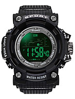 cheap -Men's Digital Watch Digital Sporty Stylish Black / Brown 30 m Water Resistant / Waterproof Chronograph Alarm Clock Digital Minimalist Outdoor - Green Black Black / Blue Two Years Battery Life