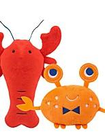 Недорогие -Плюшевые игрушки Собаки Коты Животные Игрушки 1шт Подходит для домашних животных Животные Плюш Подарок