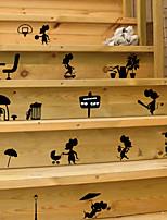 Недорогие -Пейзаж / Животные Наклейки Наклейки для животных Декоративные наклейки на стены, PVC Украшение дома Наклейка на стену Стена / Окно Украшение 1шт