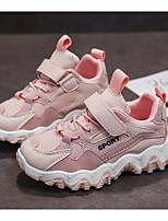 Недорогие -Мальчики Удобная обувь Сетка Спортивная обувь Большие дети (7 лет +) Розовый / Серый Лето