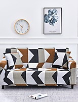 cheap -Sofa Cover Geometric / Multi Color / Contemporary Printed Polyester Slipcovers