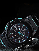 cheap -Unisex Digital Watch Japanese Quartz Stylish Black 50 m Water Resistant / Waterproof New Design Cool Analog Casual Outdoor - Red Black / White Black / Green Two Years Battery Life