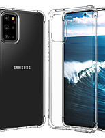 cheap -Case For Samsung Galaxy S20/S20/S20U1 tra/S10/S10 E/S10 plus/S10 5G/ S9 / S9 Plus / NOTE 10/NOTE 10 Plus Shockproof Back Cover Transparent TPU
