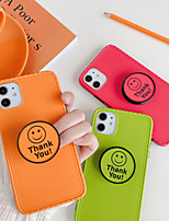 cheap -Case For Apple iPhone 11 / iPhone 11 Pro / iPhone 11 Pro Max Shockproof / with Stand / Pattern Back Cover Solid Colored PC