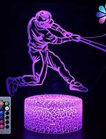 Недорогие -бейсбольная лампа бейсбольные подарки ночные огни для детей с дистанционным&усилитель; Smart Touch 7 цветов 16 изменяющихся цветов бейсбол игрушки для мальчиков подарки (бейсбол)