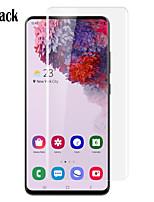 Недорогие -Naxtop 3D дуги полный экран из закаленного стекла протектор для Samsung Galaxy S20 Ultra / S20 Plus / S20 -Прозрачный