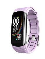 cheap -C6T Unisex Smartwatch Smart Wristbands Android iOS Bluetooth Waterproof Heart Rate Monitor FM Radio Thermometer Exercise Record Pedometer Call Reminder Activity Tracker Sleep Tracker Sedentary
