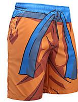 Недорогие -Вдохновлен Жемчуг дракона Брюки Косплэй Kостюмы Полиэстер С принтом Рисунок маскарадный Брюки Назначение Муж.