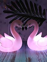 Недорогие -фламинго ночной свет мультфильм милый прикроватный светильник розовый