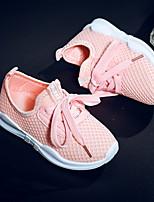 Недорогие -Мальчики Удобная обувь Сетка Спортивная обувь Большие дети (7 лет +) Розовый / Белый / Черный Весна
