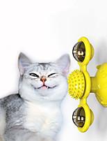 Недорогие -Интерактивная игрушка Tracker Мяч медленной подачи и обслуживания Коты Животные Игрушки Фокусная игрушка Массаж пластик Подарок