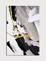 cheap -Hand Painted Canvas Oilpainting Modern Abstract Home Decoration with Frame Painting Ready to Hang