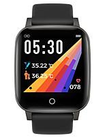 Недорогие -T1S Универсальные Умные браслеты Android iOS Bluetooth Пульсомер Спорт Израсходовано калорий Термометр Информация ЭКГ + PPG