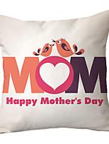 Недорогие -подушка день матери наволочка текст цветок наволочка украшение дома