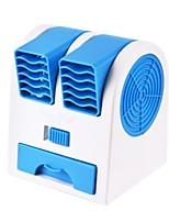 cheap -New Double Air Outlet Mini Fan Leafless Cooling Silent Scent Small Fan Portable USB Desktop Small Fan Fragrance Fan