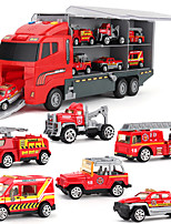 cheap -1:64 Plastic Metal Truck Race Car Diecast Vehicle Construction Set Toys Car Simulation Parent-Child Interaction Boys' Kids Car Toys