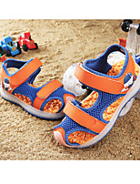 cheap -Boys' / Girls' LED Shoes Mesh Sandals LED Shoes Little Kids(4-7ys) / Big Kids(7years +) Walking Shoes LED Orange / Green / Blue Spring / Summer / Rubber