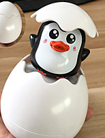 cheap -Kids Bath Toys Baby Cute Duck Penguin Egg Water Spray Sprinkler Bathroom Sprinkling Water ABS Toy Beach Shower Swimming Toy Gift