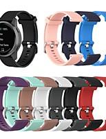 Недорогие -Ремешок для часов для Huawei Watch GT / Samsung Galaxy Watch 46 / Huawei Watch GT 2 Samsung Galaxy / Huawei / Garmin Спортивный ремешок силиконовый Повязка на запястье