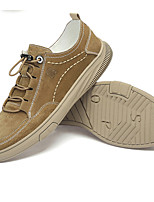 cheap -Men's Summer Casual Daily Sneakers PU Non-slipping Light Brown / Beige