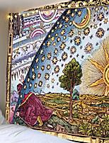 cheap -Polyster Hippie Mandala Patroon Tapestry Abstracte Schilderkunst Muur Opknoping Gobelin Livingroom Decor Ambachten