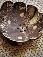 Недорогие -натуральный кокосовый орех чаша листьев творческий хранения положить ключ чаша сливное мыло коробка украшения