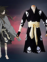 cheap -Inspired by Cosplay Anime Cosplay Costumes Japanese Cosplay Suits Gloves Scarf Kimono Coat For Men's / Waist Belt