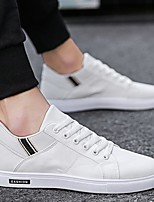 cheap -Men's Summer Outdoor Sneakers PU Non-slipping White / Black / Beige