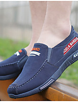 cheap -Men's Spring & Summer Casual Daily Loafers & Slip-Ons Canvas Black / Blue / Gray