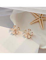 cheap -Women's Earrings Classic Flower Love Classic Vintage Earrings Jewelry Pink For Gift Daily 1 Pair