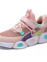 cheap -Boys' / Girls' Comfort PU / Elastic Fabric Trainers / Athletic Shoes Big Kids(7years +) Running Shoes Black / Pink / Dark Blue Spring