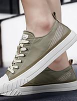 cheap -Men's Spring & Summer Casual Daily Sneakers Nylon Almond / Black / Khaki