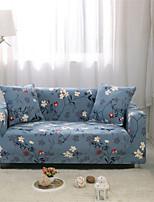 Недорогие -суперсовременные чехлы с цветочным принтом, эластичные чехлы на диваны, супер мягкие ткани, чехлы на диван с одной бесплатной наволочкой