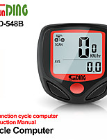 cheap -NEW Bicycle Meter Speedometer Bike Digital LCD Cycling Computer LCD Odometer Speedometer Stopwatch For Bike SD-548B