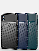 cheap -Case For Apple iPhone 7/8/7P/8P/X/XS/XR/XS Max/11/11 Pro/11 Pro Max/SE 2020Shockproof Back Cover Solid Colored Silica Gel