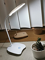 cheap -Desk Lamp Touch Sensor Modern Contemporary USB Powered For Study Room / Office / Office 12V White