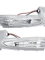 Недорогие -Индикатор поворота зеркала крыла автомобиля повторитель габаритные огни левой / правой стороны для Peugeot 508 Citroen DS5 C4