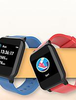 Недорогие -Spovan SW06 Универсальные Смарт Часы Android iOS Bluetooth Водонепроницаемый Пульсомер Измерение кровяного давления Израсходовано калорий Медобеспечение ЭКГ + PPG