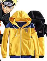 cheap -Inspired by Naruto Uchiha Sasuke Anime Cosplay Costumes Japanese Outfits Hoodie For Men's Women's