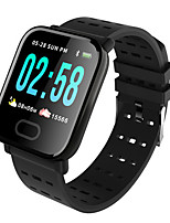 cheap -A6 Unisex Smart Wristbands Android iOS Bluetooth Waterproof Touch Screen Heart Rate Monitor Blood Pressure Measurement Health Care ECG+PPG Sleep Tracker Community Share