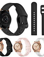 Недорогие -ремешок для samsung galaxy watch active 2 galaxy ремешок для часов 42mm gear спортивный браслет ремешок 20mm