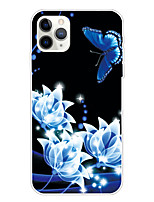 cheap -Case For Apple iPhone 11/11 Pro/11 Pro Max/XS/XR/XS Max/8 Plus/7 Plus/6S Plus/8/7/6/6s/SE/5/5S Transparent Pattern Back Cover Mandala Soft TPU
