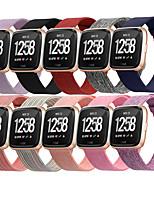Недорогие -Ремешок для часов для Fitbit Versa / Fitbi Versa Lite / Fitbit Versa 2 Fitbit Спортивный ремешок Нейлон Повязка на запястье