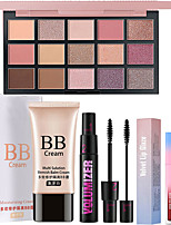 cheap -Makeup Set BB Cream Dry Large Capacity Long Lasting Beauty Birthday Gift Daily Daily Wear Date / Matte
