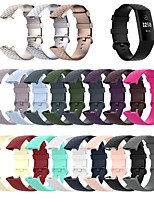 cheap -Watch Band for Fitbit Charge 3 / Fitbit charge3 / Fitbit Charge 4 Fitbit Sport Band Silicone Wrist Strap