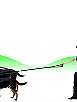 cheap -Dog Cat Pets Harness Leash Double Dog Leash Reflective Portable Retractable Wearable Soft Adjustable Flexible Durable Solid Colored Classic Nylon Husky Labrador Alaskan Malamute Golden Retriever