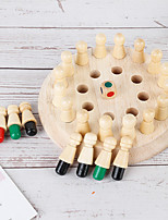 cheap -Board Game Educational Toy Momory Chess Wooden Child's Preschool Boys and Girls Toys Gifts