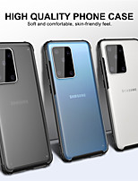 cheap -Shockproof Transparent Frosted PC Phone Case For Samsung Galaxy S20 Ultra S20 Plus S10 Plus Note 10 Pro S10e Soft TPU Silicone Frame Protection Cover