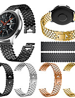 cheap -Watch Band for Gear S3 Frontier / Gear S3 Classic / huawei honor Magic Samsung Galaxy Classic Buckle / Business Band Stainless Steel Wrist Strap
